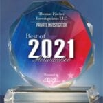 2021 Best of Milwaukee Crystal Award